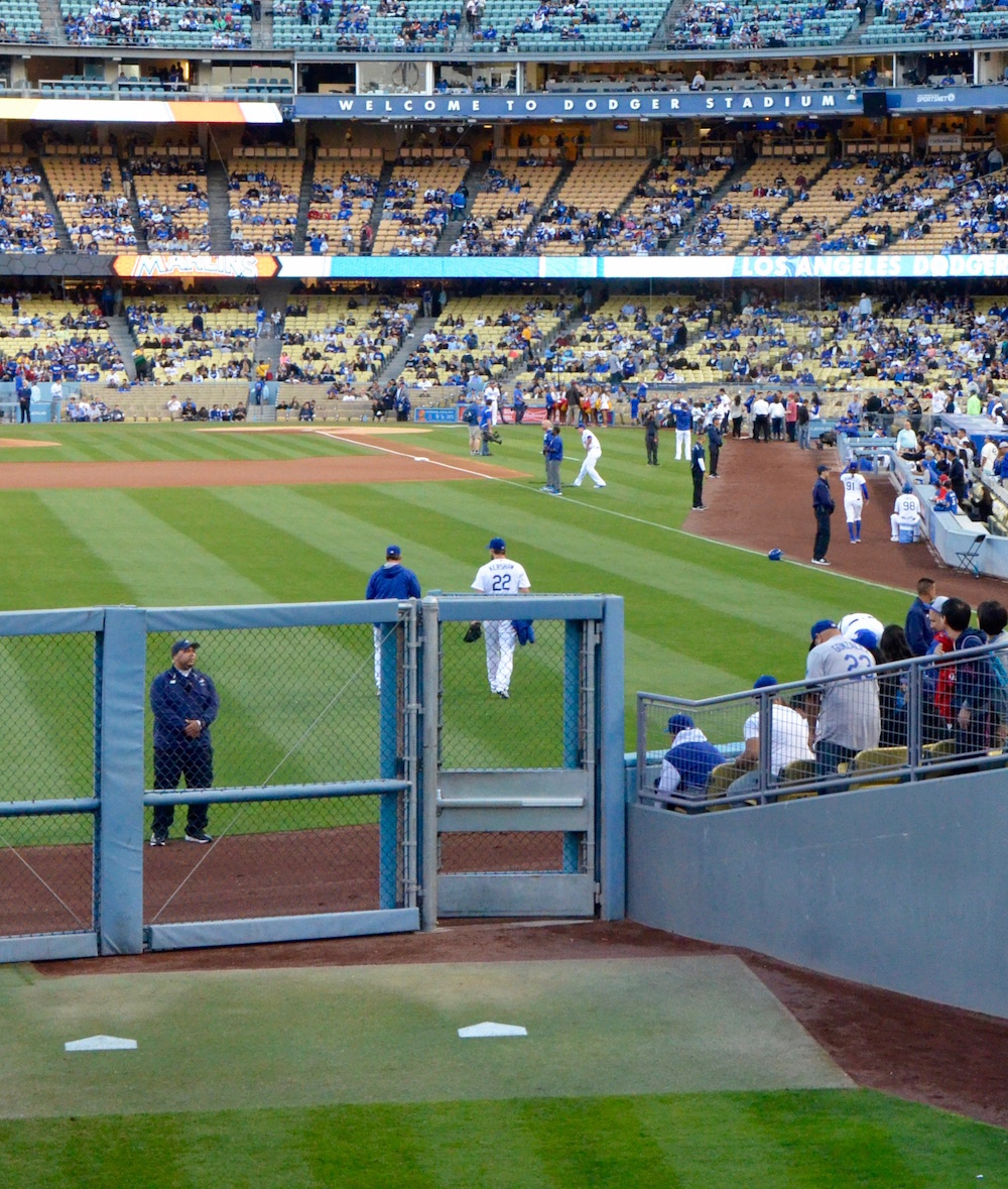 Clayton Kershaw Going to Work