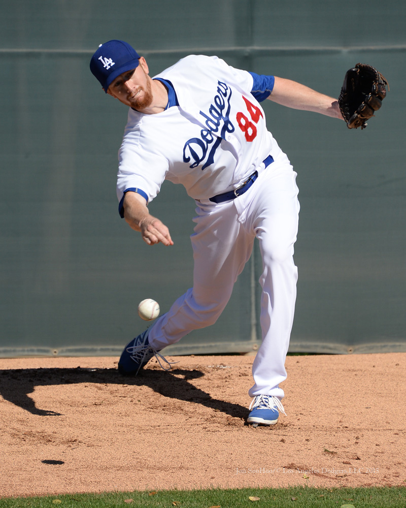 Los Angeles Dodgers workout Wednesday, February 25, 2015 at Camelback Ranch-Glendale in Phoenix,Arizona. Photo by Jon SooHoo/©Los Angeles Dodgers,LLC 2015