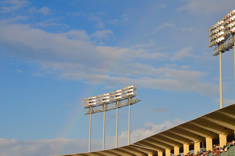 RIGHT FIELD RAINBOW