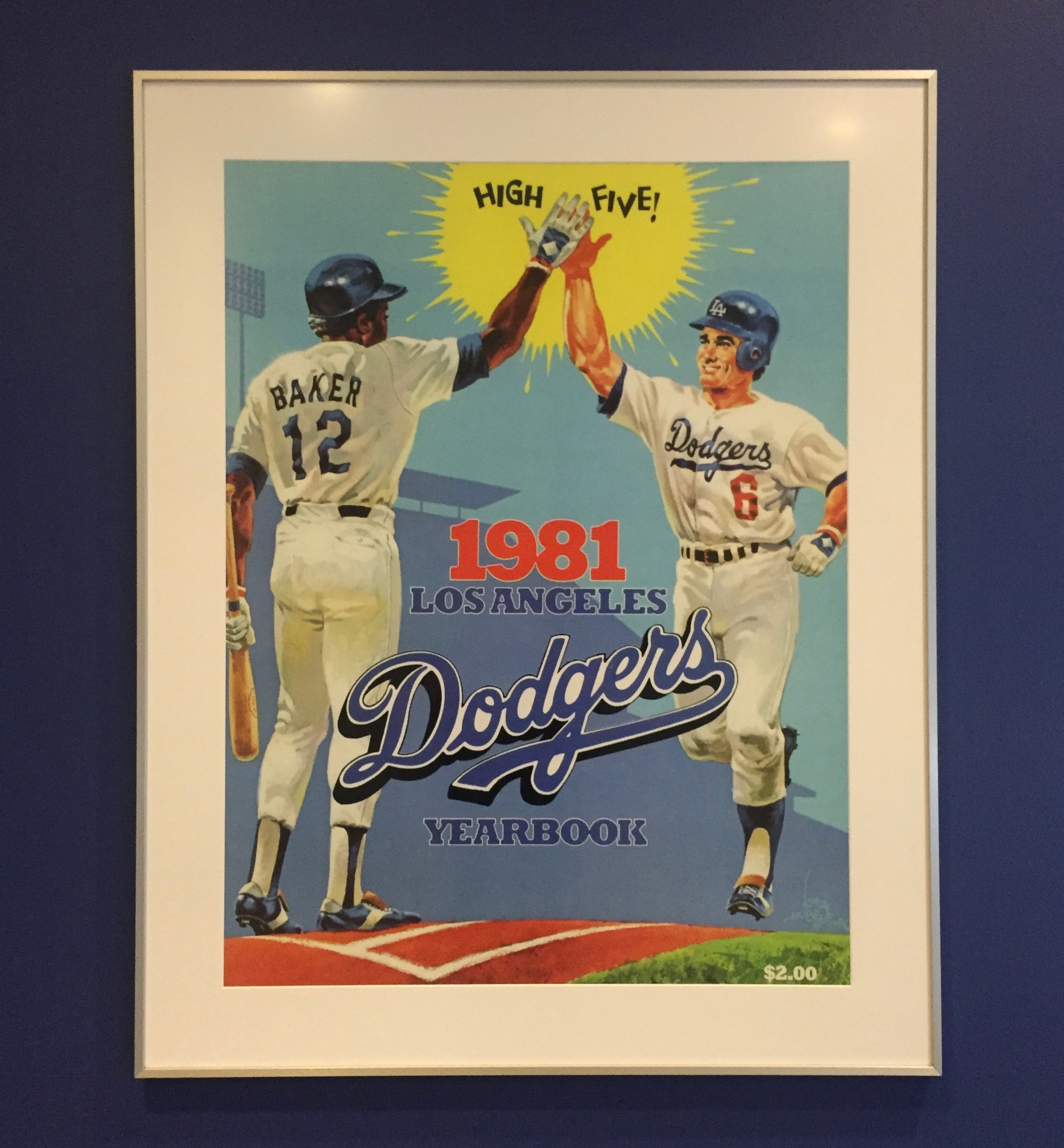 1981 Dodgers Yearbook