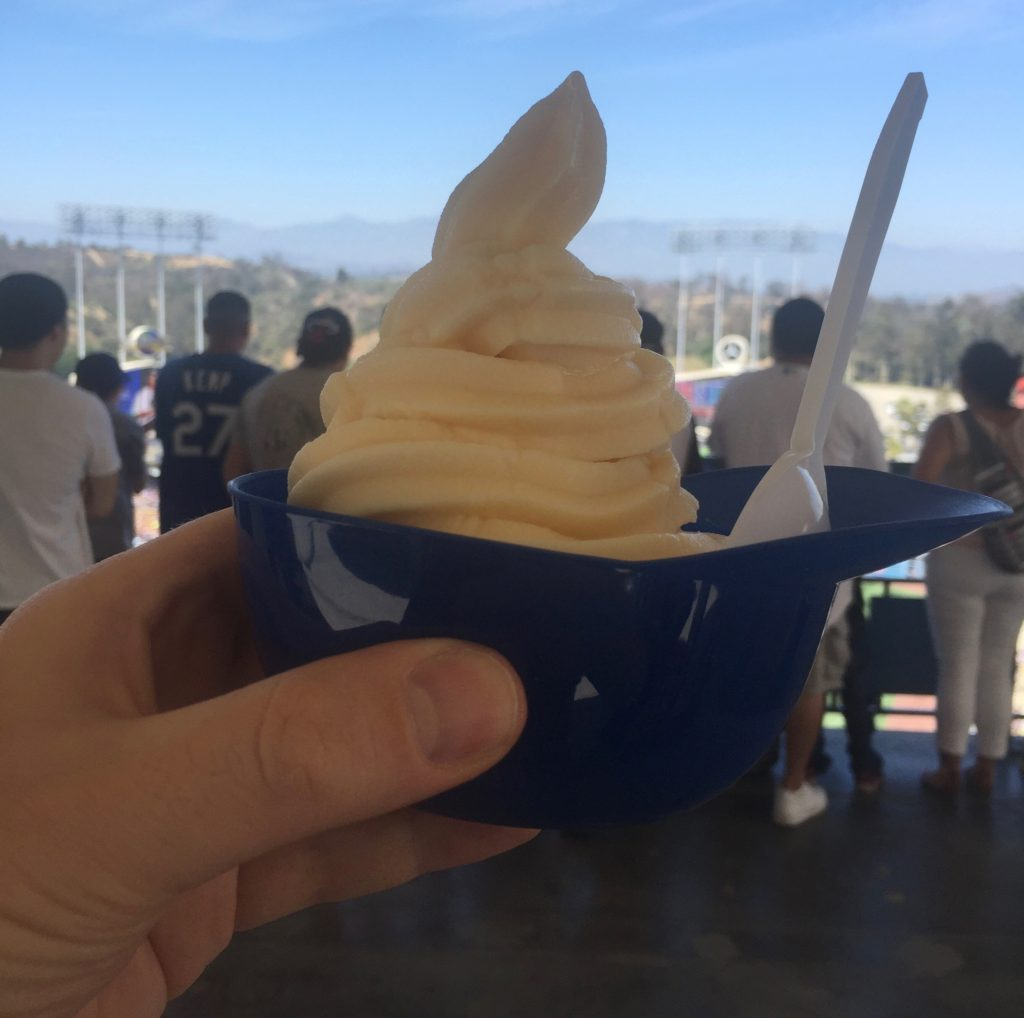 DODGER STADIUM ICE CREAM HELMET