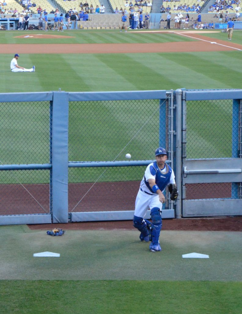 AJ ELLIS AND CLAYTON KERSHAW