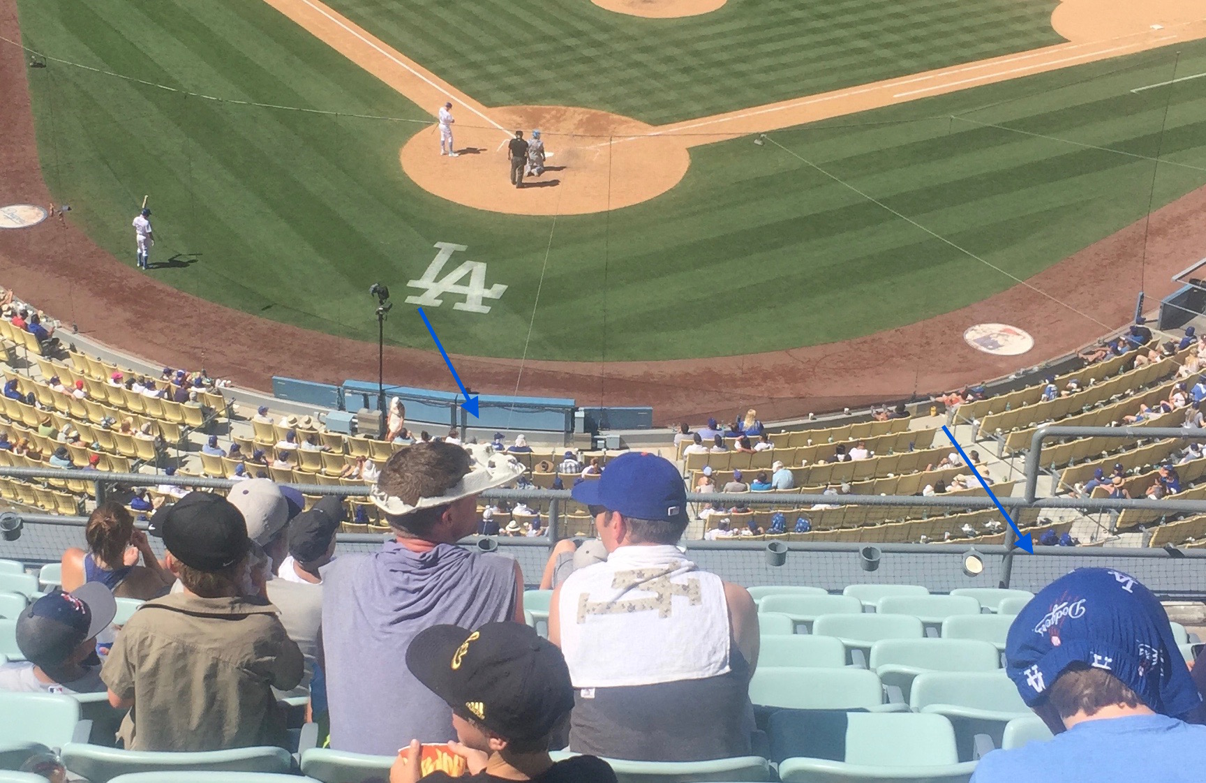 Dodger Stadium Heat
