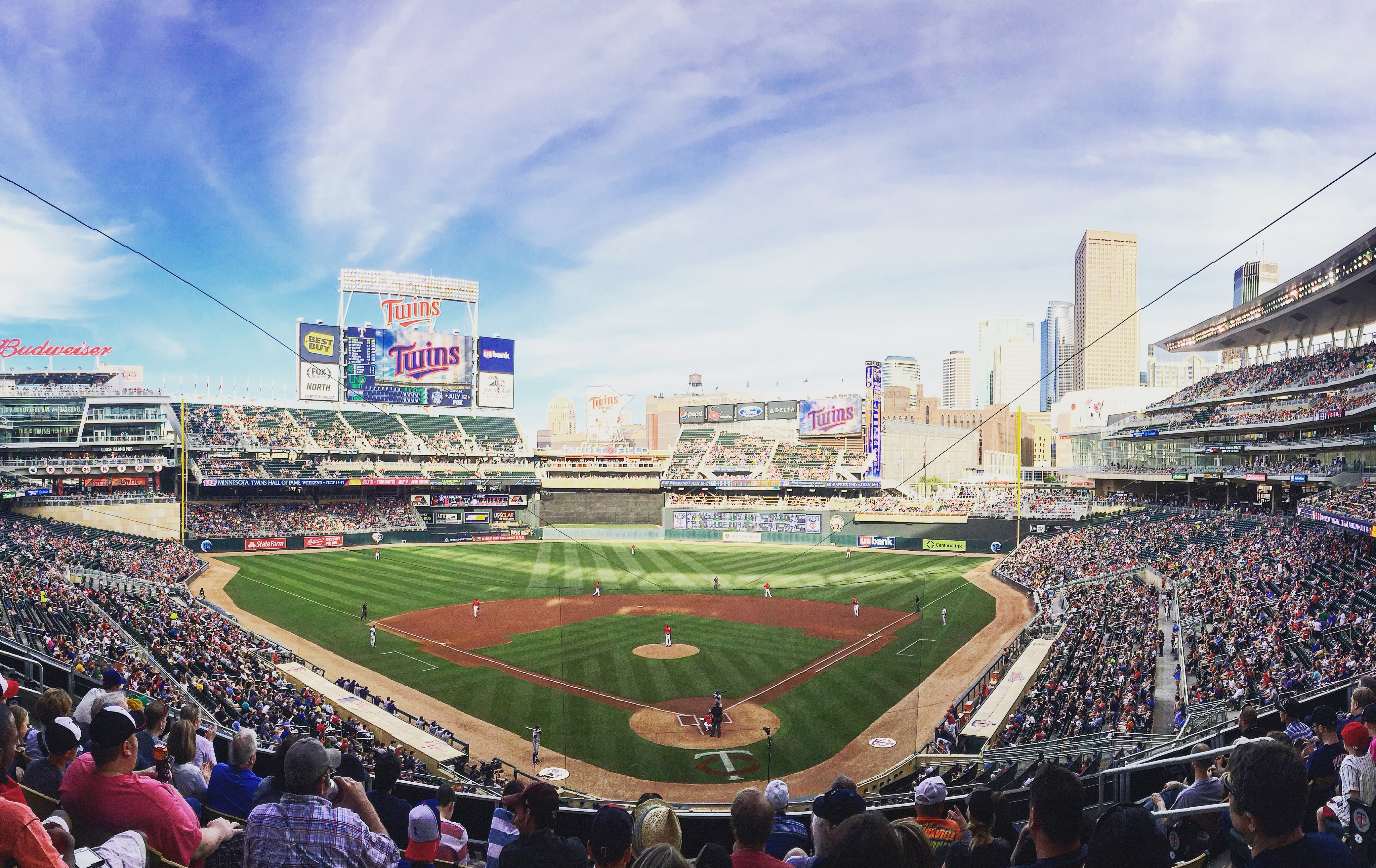 Target Field Cropped Pano